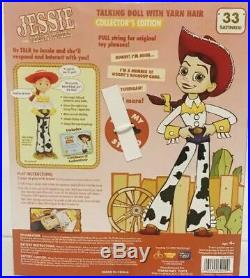 New Toy Story Signature Collection Woodys Roundup Talking Doll Cowgirl Jessie