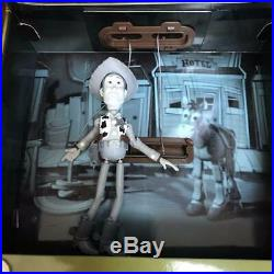 New unused TOY STORY ROUNDUP TV Woody Figure Disney