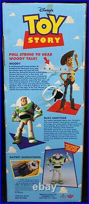 Original 1995 Toy Story Talking Woody Thinkway Unopened