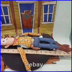 Original Toy Story 1990s Woody Pull String talking There's a Snake in my boot