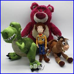 Pixar Original Toy Story Plush Alien Figure Doll Woody Buzz