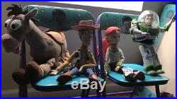 Pre-owned Collectors Disney Toy Story Woody & Jessie, Bullseye & Buzz Lightyear