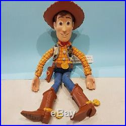 Pull String Woody Toy Story -One eyed Bart- Pull String Talking doll toy promo