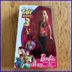 R9295/r4248 Mattel Barbie Toy Story Barbie Loves Woody Neu/ovp