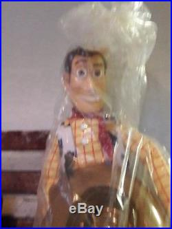 RARE 4 Ft Large Walt Disney Thinkway Toy Story Woody Doll Store Display HH27