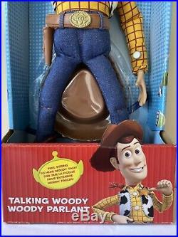 RARE Disney Parks Toy Story 3 Pull-String Talking Woody NIB