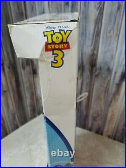 RARE Disney Parks Toy Story 3 Pull String Talking Woody Works in Box