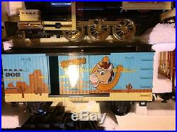 RARE Disney Pixar Toy Story Woody's Roundup Train Set by Scientific Toys G Scale