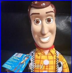 RARE Toy Story 2 JUMBO Large 31 Woody Doll With Hat & Holster New With Tags 2001