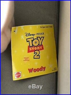 RARE Toy Story 2 JUMBO Large Woody Doll 31 With Hat & Holster NWT 2001