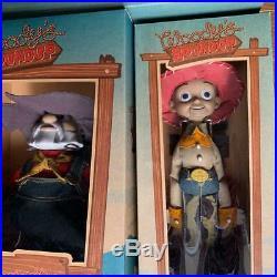 Roundup Toy Story Woody & Jesse & Bullseye & Prospector Plush Doll set New
