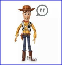 SALE Disney Toy Story 4 Talking Sheriff Woody Action Figure Doll Collectible