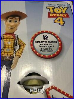 Set Of 3 Talking Toy Story 4 Dolls Woody Jessie Bo Peep Pull String Disney 14