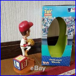 Sheriff Woody Toy Story 22 cm Baseball MLB Bobble Heads Limited From Japan Good