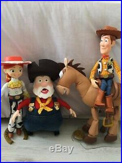 Stinky pete toy story inspired prospector handmade woodys round up doll