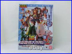 Superalloy Toy Story Super-Combed Strategy Woody Robo Sheriff Star With First