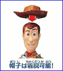 TAKARA TOMY Figure Toy Story 4 Real Posing Figure Woody TAKARA TOMY Japan New