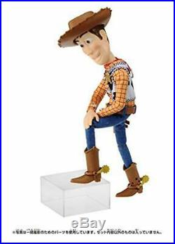 TAKARA TOMY Toy Story 4 Real Posing Figure Woody 40cm Doll Figure F/S withTrack#