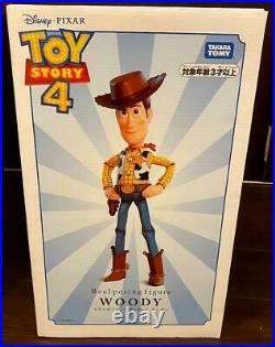 TAKARA TOMY Toy Story 4 Real Posing Figure Woody 40cm Doll Figure Gifts xmas