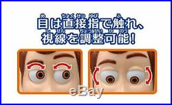 TAKARA TOMY Toy Story 4 Real Posing Figure Woody 40cm Doll Figure w From jap