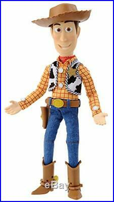 TAKARA TOMY Toy Story 4 Real Posing Figure Woody 40cm Doll Figure with Tracking