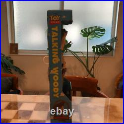 TALKING WOODY Vintage 1995 Toy Story DISNEY PIXAR Original Pull String Thinkway