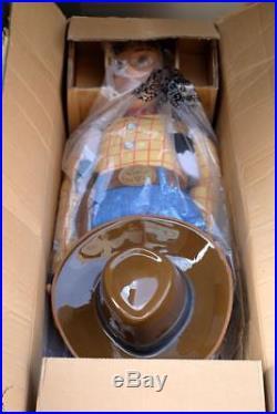 THINKWAY Toy Story 2 jumbo Woody Plush Doll 120 cm Very Rare
