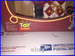 TOY STORY HOLIDAY HERO SERIES WOODY DOLL Open box