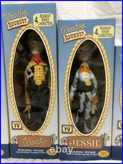 TOY STORY WOODY'S ROUNDUP LIFE SIZE REPLICA TOY 3rd Version Figure 4 Types Set