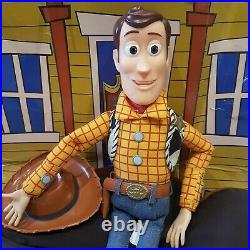 TOY STORY Woody Pull String talking Figure There's a Snake in my boot, p5