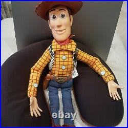TOY STORY Woody Pull String talking doll Figure There's a Snake in my boot o