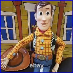TOY STORY Woody Pull String talking doll There's a Snake in my boot