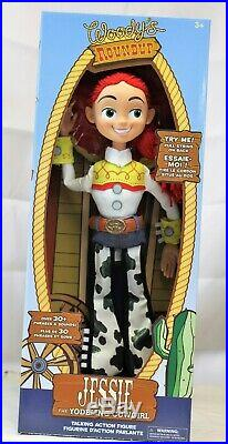 TOY STORY Woody and Jesse Talking Action Figures Disney Toy Story Set NEW