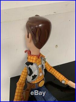 Talking Woody CUSTOM Toy Story Movie Replica Doll (30 Phrases!)