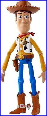 Talking Woody Doll Disney Toy Story Figure Free Shipping Speaks famous phrases