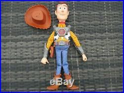Thinkway Disney Pixar Toy Story That Time Forgot BATTLESAUR WOODY Talking Doll