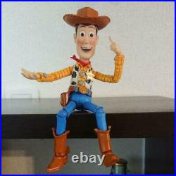 Tokusatsu Revoltech Toy Story Woody Figure Doll Disney Cowboy Kaiyodo Japan