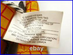 Toy Story 14 WOODY & JESSIE TALKING DOLLS with Hats Pull String Thinkway