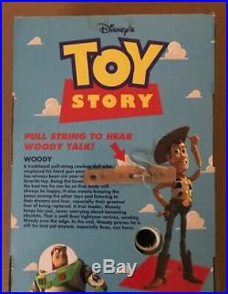 Toy Story (1995) Talking Woody Doll #62810, Mint in Box