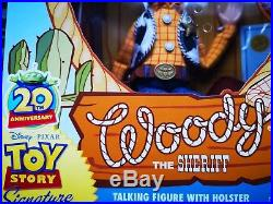 Toy Story 20th Anniversary (Rare) Signature Collection Woody Brand New, MITB