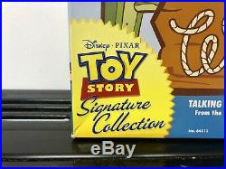 Toy Story 20th Anniversary Signature Collection Woody Doll Boxed Certificate