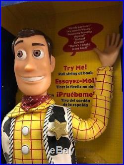 Toy Story 2 Sheriff WOODY SEALED MINT Dolls Kids MINT 10 USA Merry Christmas