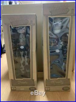Toy Story 2 Woody & Jessie Roundup Monochrome Woody's Life size Doll set Used