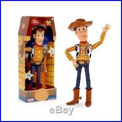 05d048a62e4bc Toy Story 3 Disney Store Originale. Personaggio snodabile Woody parlante  inglese