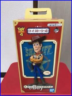 Toy Story 4 Ichiban Kuji Prize A Woody figure Slinky Dog Plush Doll BANDAI A11