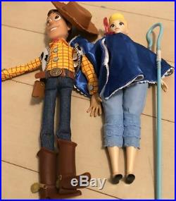 Toy Story 4 Woody Bo Peep English Doll About 34Cm
