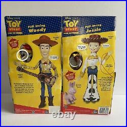 Toy Story And Beyond Pull String Jessie & Woody 2002 Works Box Wear