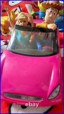 Toy Story Barbie Woody And The Car