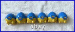 Toy Story Box Figure Strap Glitter Keycha Disney Woody Buzz Jesse Rex Bullseye