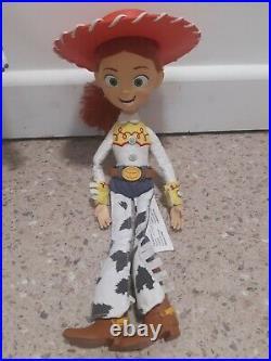Toy Story Bundle Woody Jessie Bullseye Buzz And Slinky Dolls Thinkway